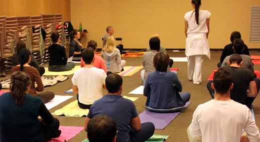Convegno Giovani AISM 2012 - Yoga