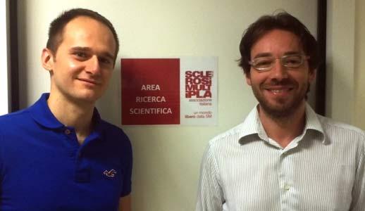 Andrea Tacchino e Giampaolo Brichetto