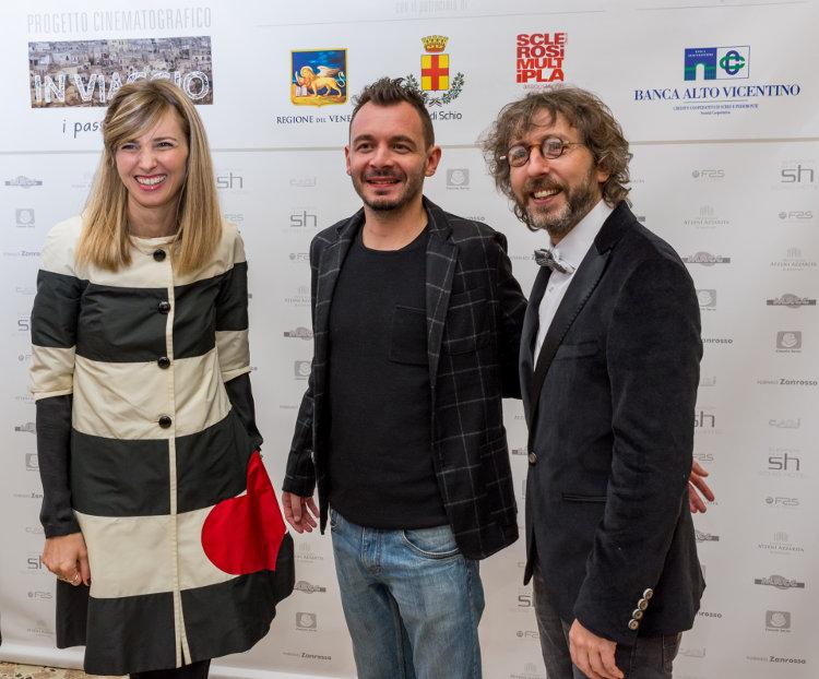 Carolina Di Domenico, Stefano Pieropan, Giorgio Cremasco
