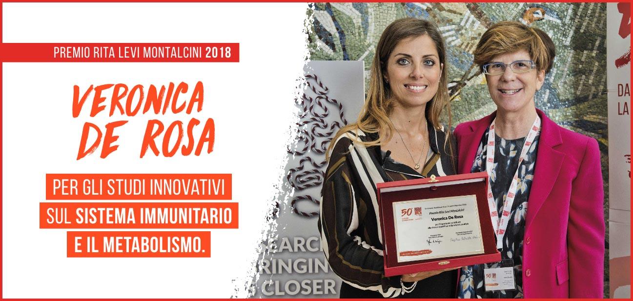 Premio Rita Levi Montalcini 2018 - Veronica De Rosa