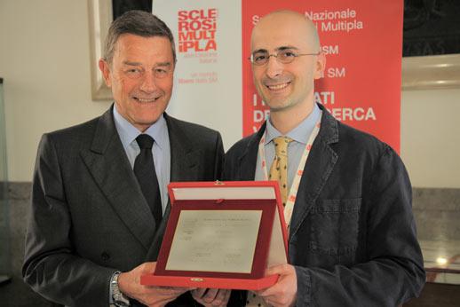 Il Ministro della Salute Ferruccio Fazio e Diego Centonze