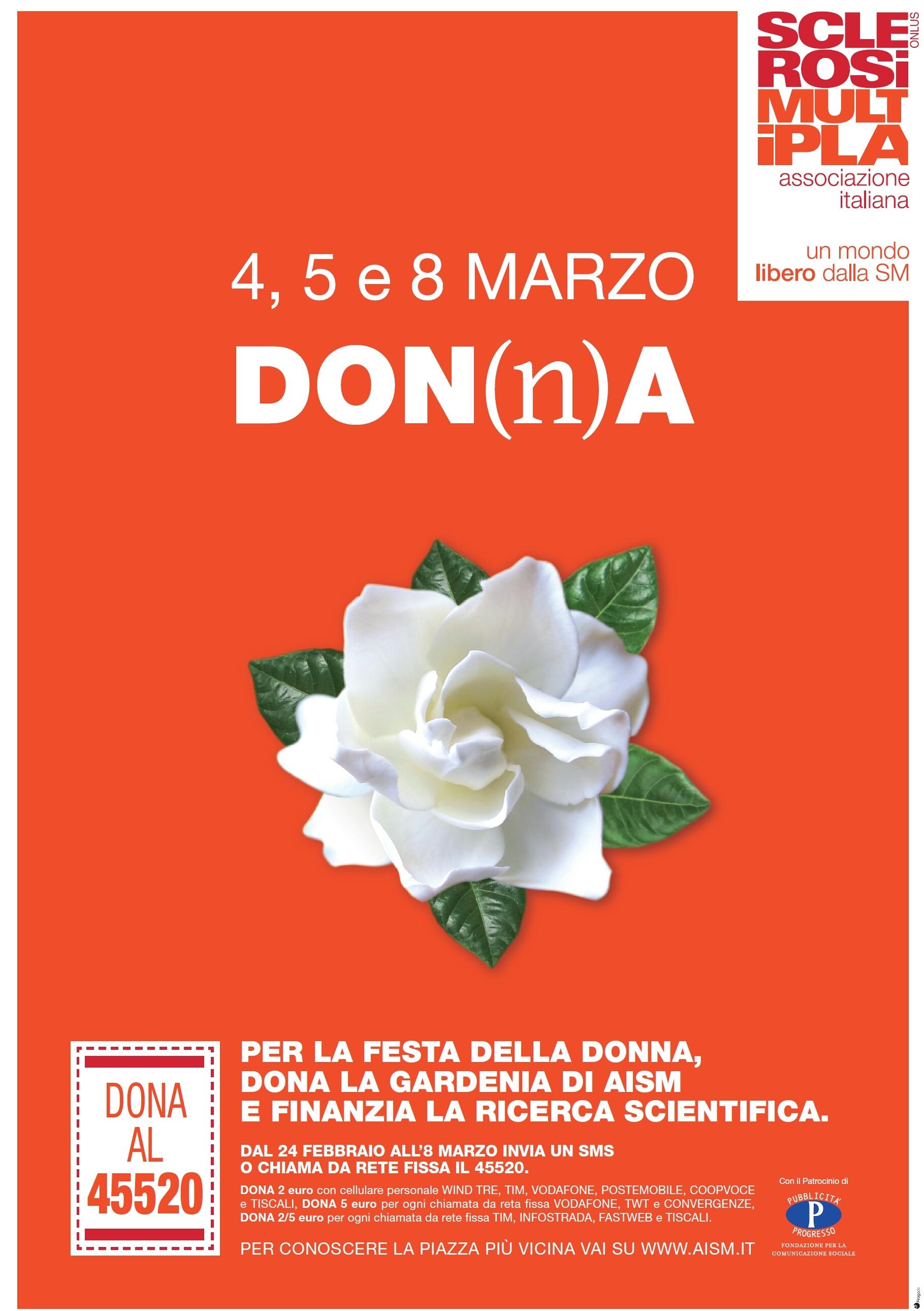 Dal 24 febbraio all 8 marzo 2017 inoltre sar possibile sostenere la ricerca donando 2 o 5 euro al numero solidale