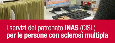 I servizi del patronato INAS a favore delle persone con sclerosi multipla