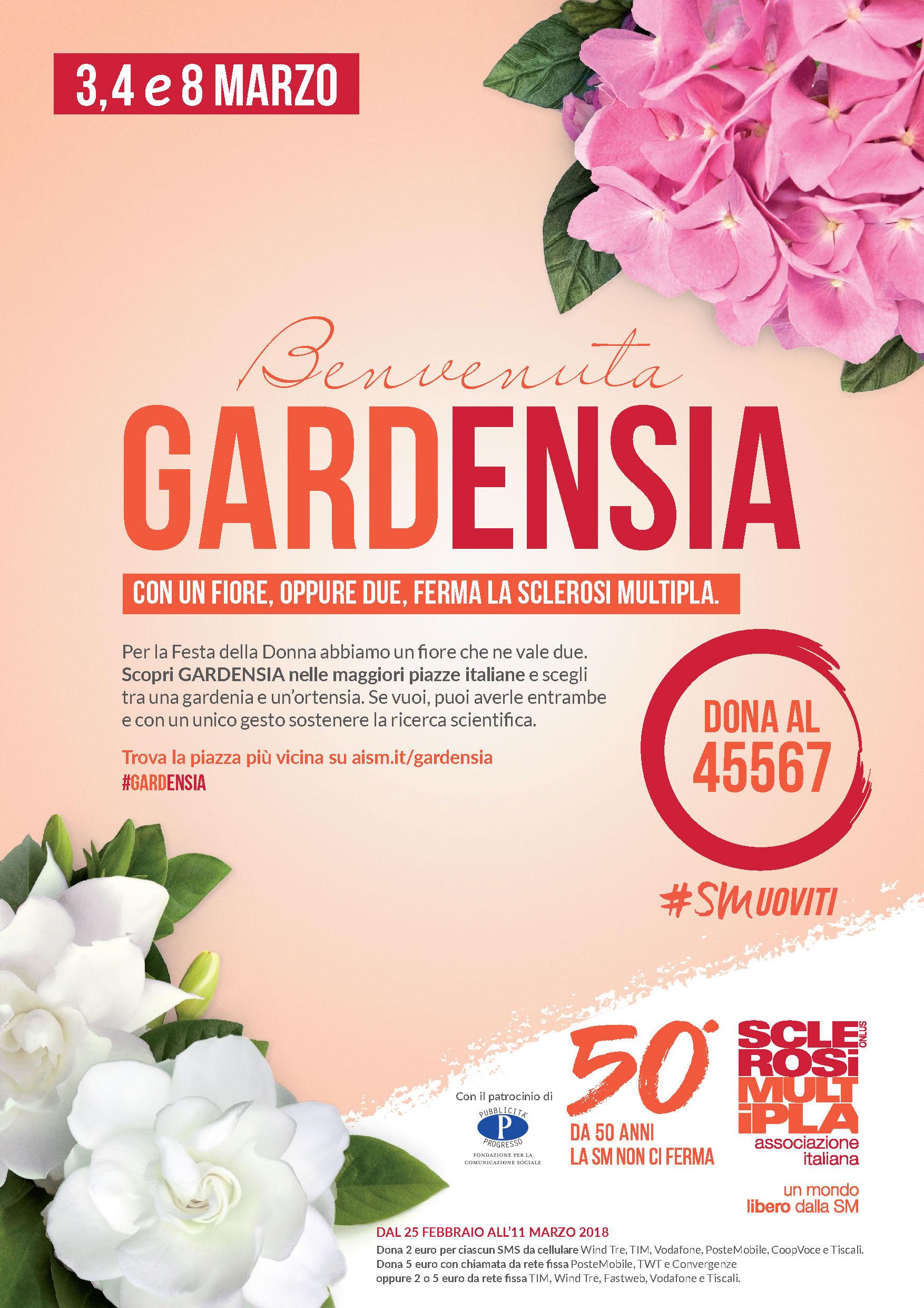Gardenia e Ortensia AISM