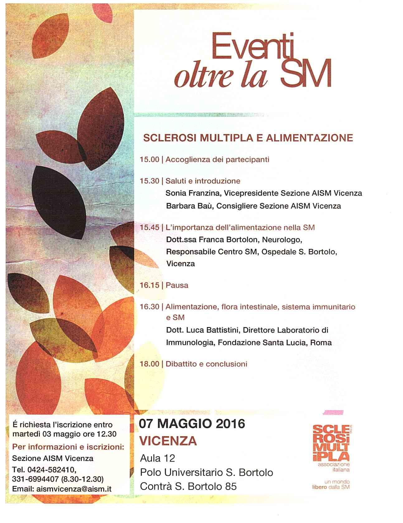 Evento Oltre la SM