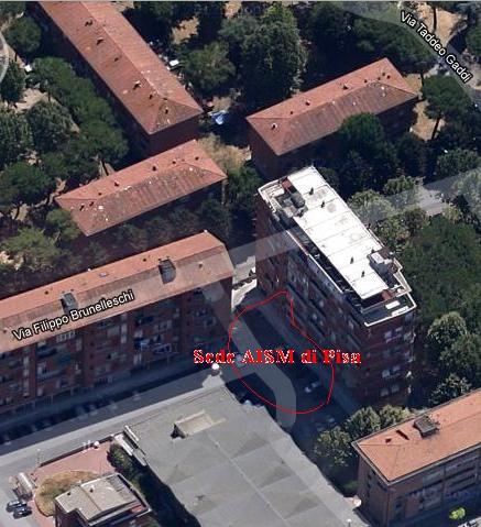 Sezione di Pisa - Foto Satellite